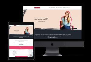new salespage shop